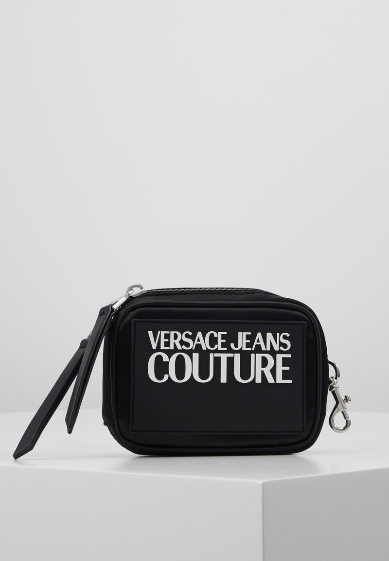 Versace Jeans Couture - TAB SMALL COIN WALLET - Geldbörse - black