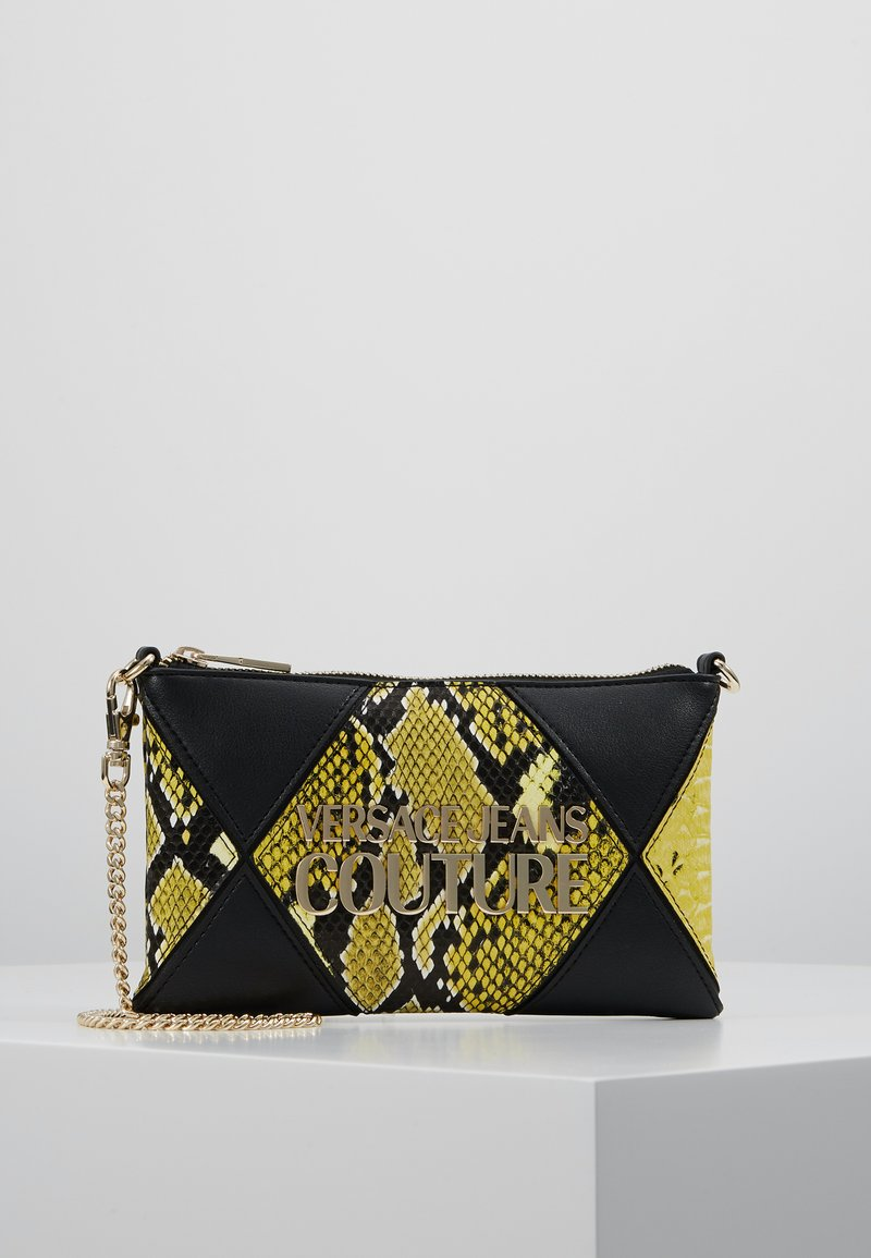 Versace Jeans Couture - Clutch - black/yellow