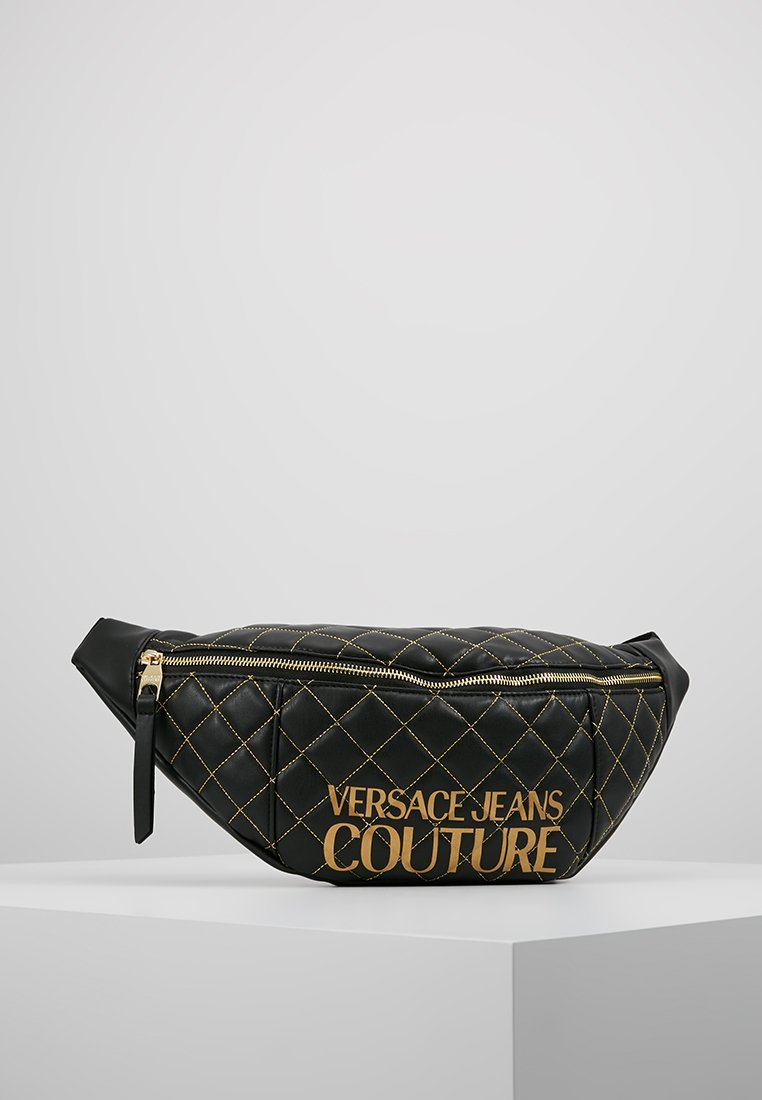 Versace Jeans Couture - BELT BAG QUILTED - Ledvinka - nero