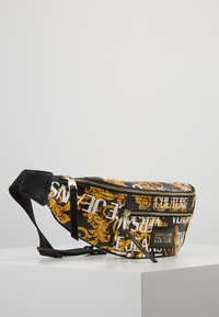 Versace Jeans Couture - BELT BAG - Sac banane - black/gold coloured - 3