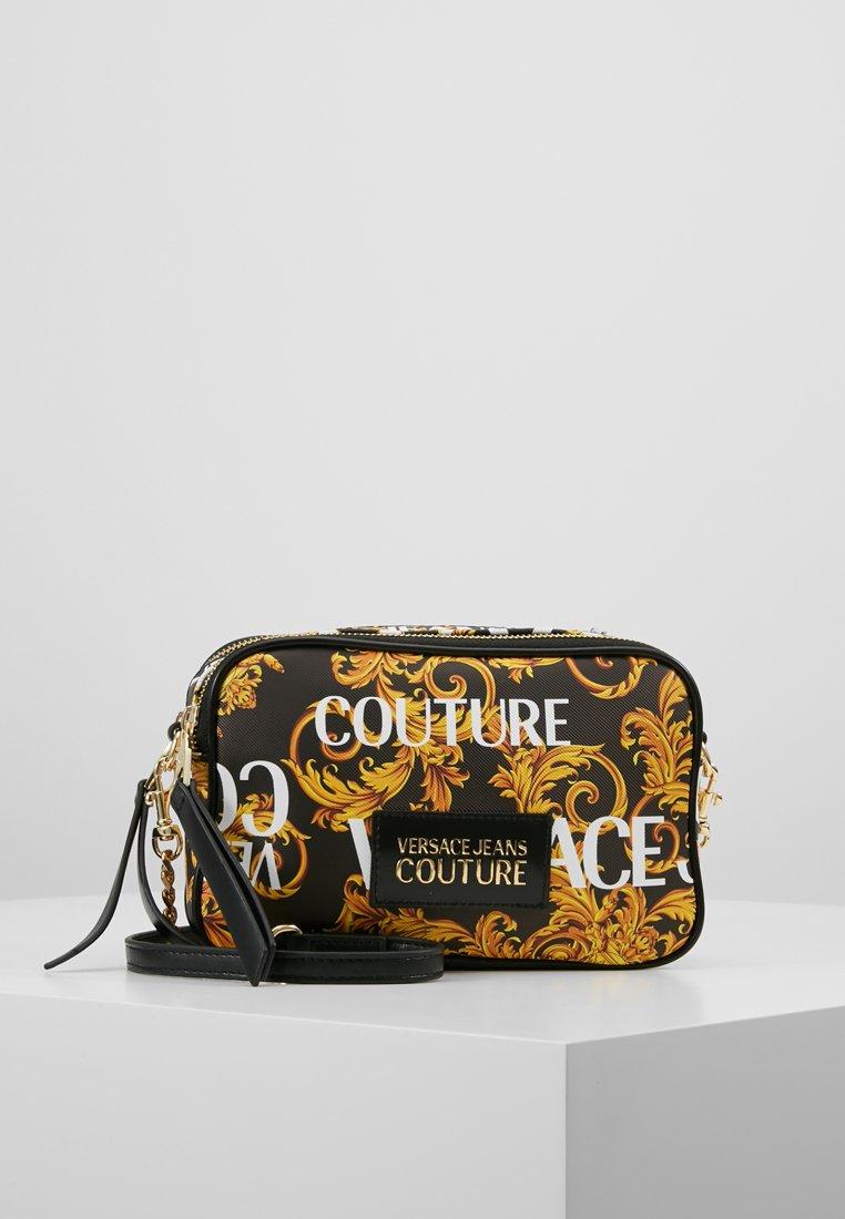 Versace Jeans Couture - CROSSBODY - Taška spříčným popruhem - black