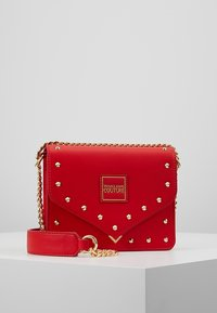 Versace Jeans Couture - STUDS SMALL SHOULDER BAG - Schoudertas - rosso - 0