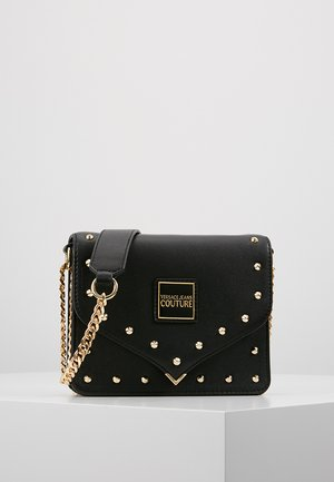 STUDS SMALL SHOULDER BAG - Borsa a tracolla - nero