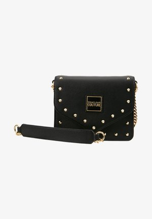 STUDS SMALL SHOULDER BAG - Skuldertasker - nero