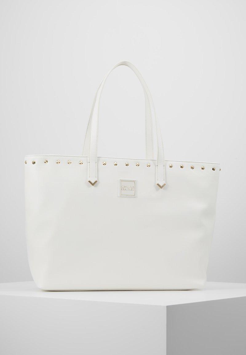 Versace Jeans Couture - SHOPPER - Bolso shopping - bianco ottico
