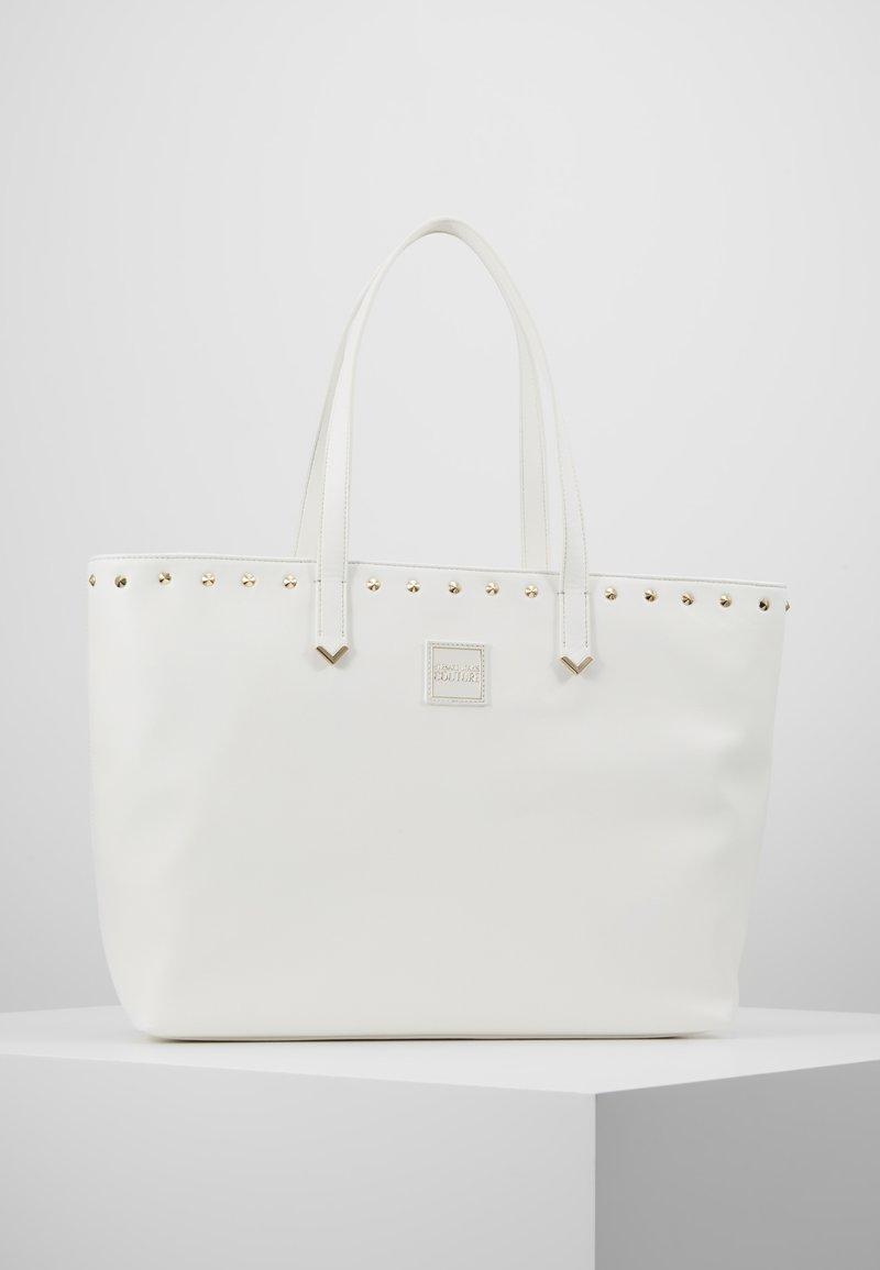 Versace Jeans Couture - SHOPPER - Shopping Bag - bianco ottico