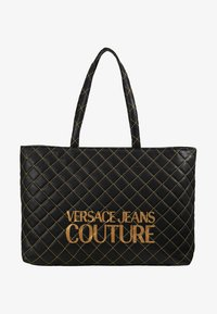 Versace Jeans Couture - SHOPPER QUILTED - Cabas - nero - 5