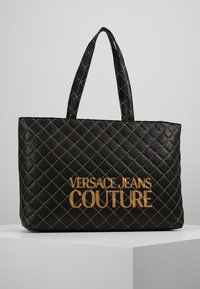 Versace Jeans Couture - SHOPPER QUILTED - Cabas - nero - 0