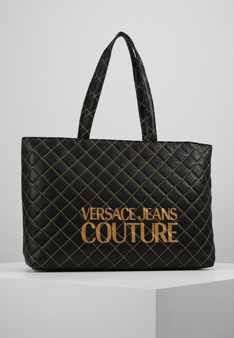 Versace Jeans Couture - SHOPPER QUILTED - Cabas - nero