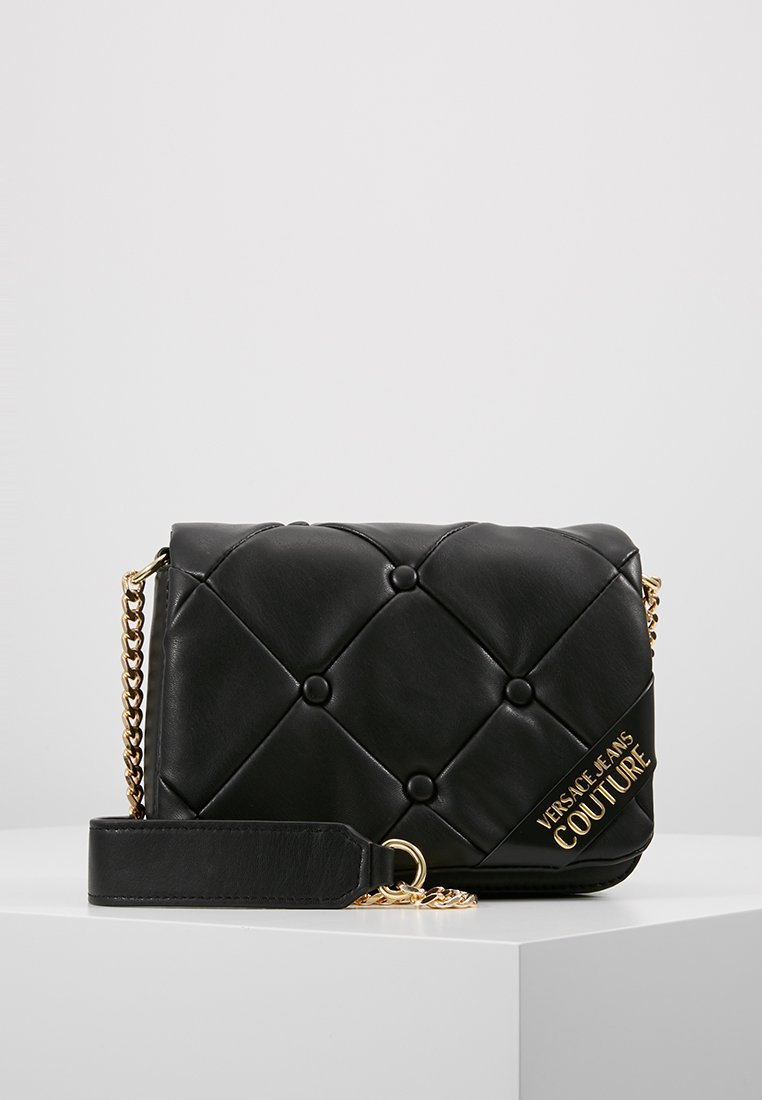 Versace Jeans Couture - COUCH SHOULDERBAG - Torebka - nero