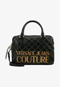 Versace Jeans Couture - QUILTED HANDBAG - Borsa a mano - nero - 5