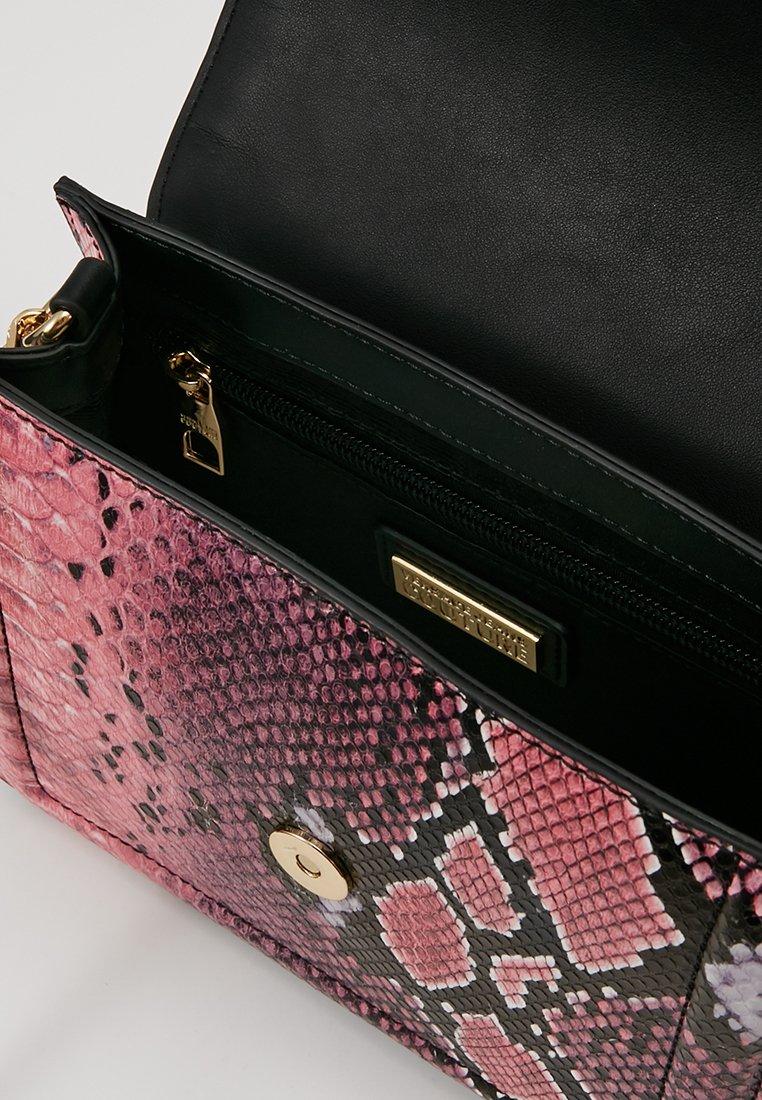 Couture Jeans Small Fuxia BagSac Bandoulière Bel Buckle Shoulder Versace 8PwkXnON0