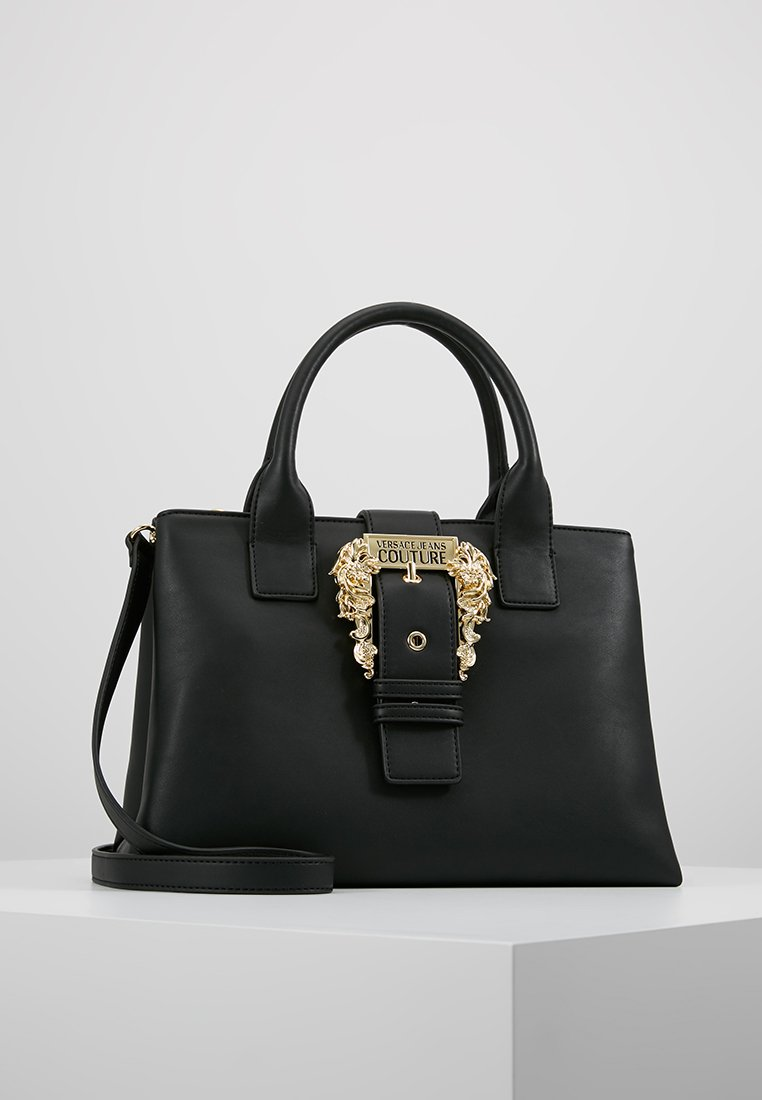 Versace Jeans Couture - BELT BUCKLE HAND BAG - Håndtasker - nero