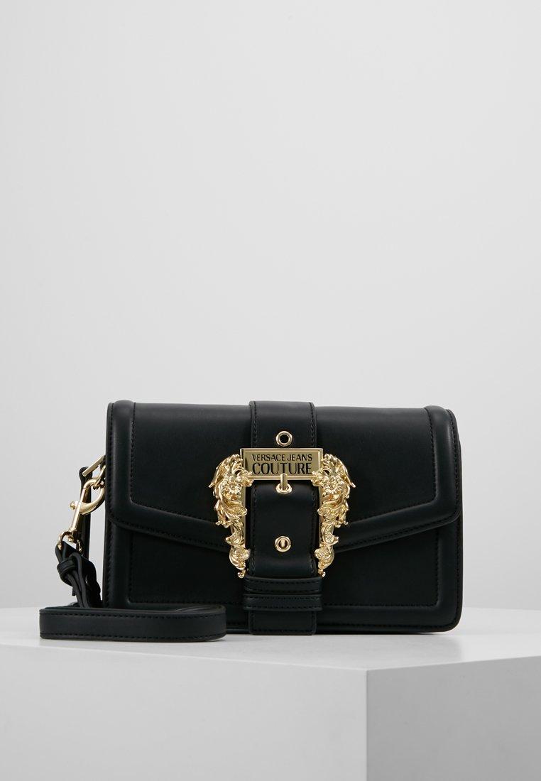 Versace Jeans Couture - BELT BUCKLE BAG PLAIN - Umhängetasche - nero