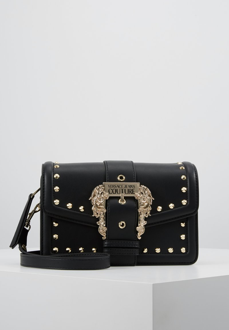 Versace Jeans Couture - LOGATA BUCKLE - Across body bag - black