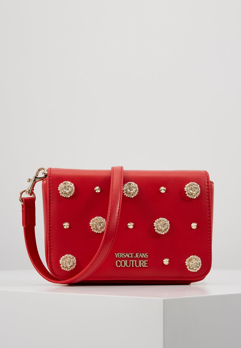 Versace Jeans Couture - FIORE - Axelremsväska - red