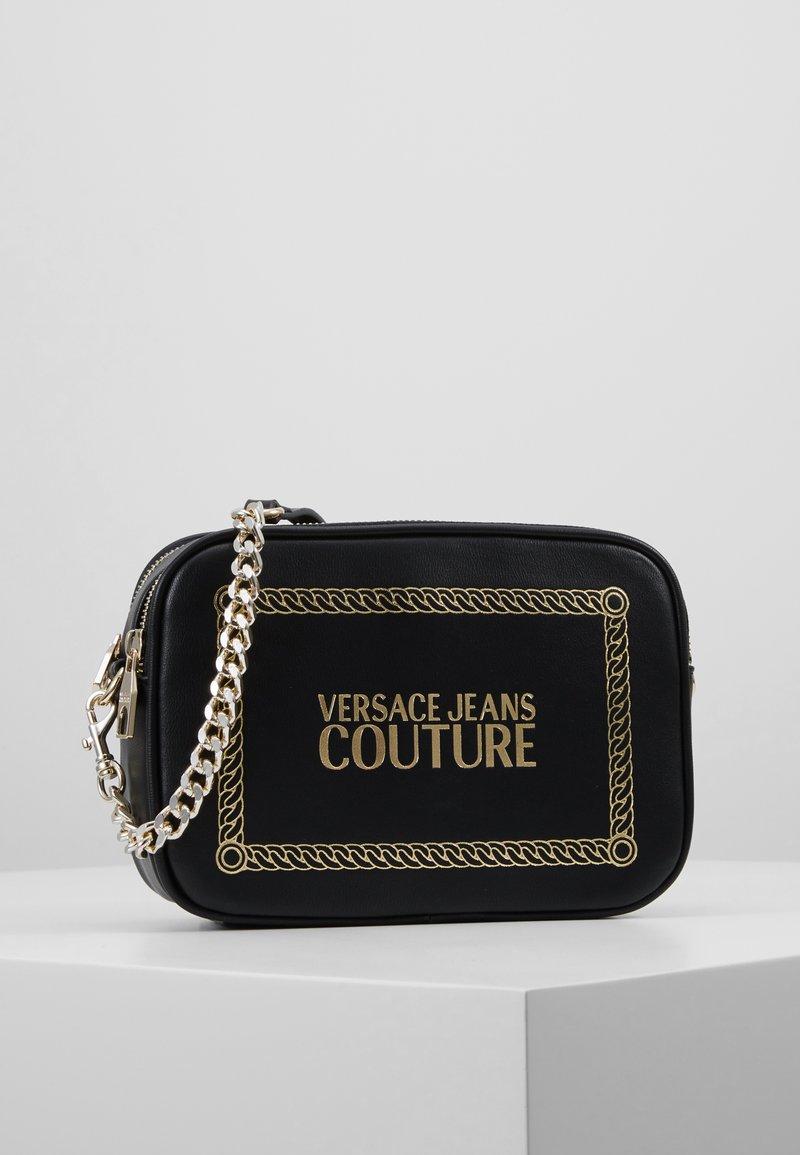 Versace Jeans Couture - Borsa a tracolla - black/gold