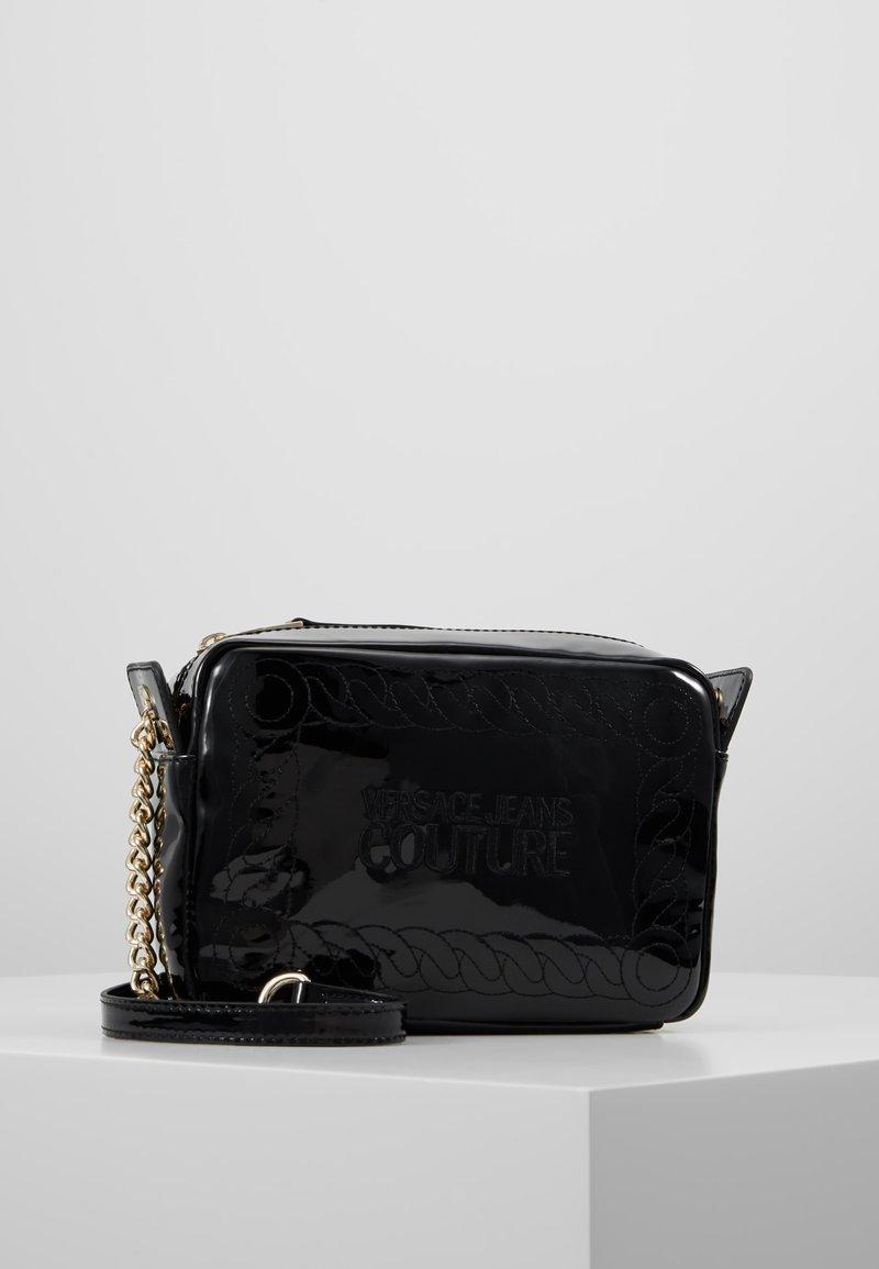 Versace Jeans Couture - Taška spříčným popruhem - black