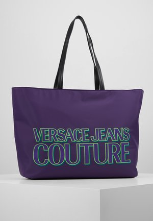 Shopping bag - purple
