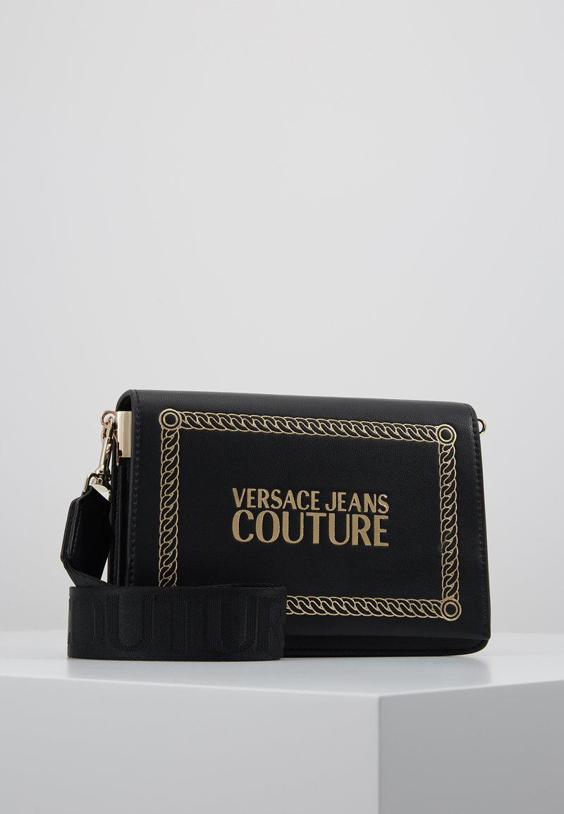 Versace Jeans Couture - Schoudertas - black/gold