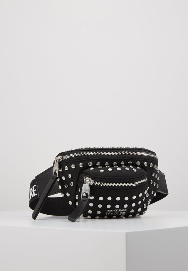 STUDDED BUM BAG - Gürteltasche - black
