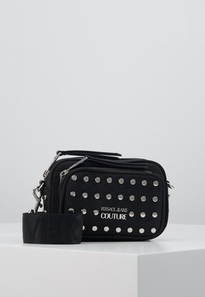 STUDDED CAMERA - Across body bag - black