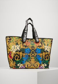 Versace Jeans Couture - BAROQUE STUD SHOPPER - Shopper - multi - 0