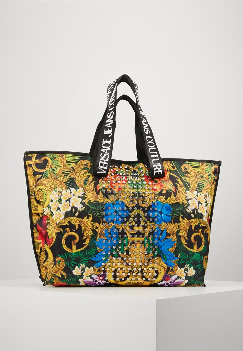 Versace Jeans Couture - BAROQUE STUD SHOPPER - Shopper - multi