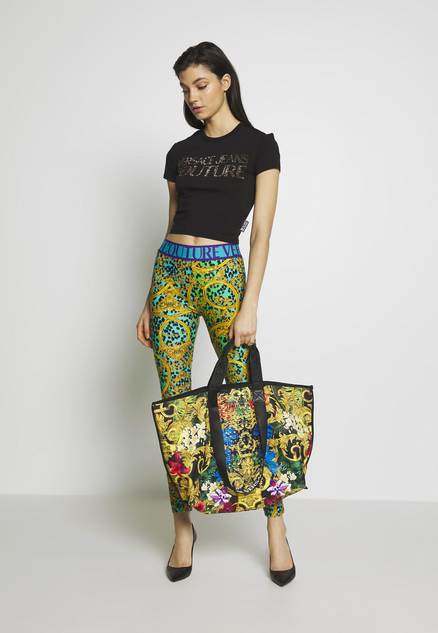 Versace Jeans Couture Baroque Stud Shopper - Shopping Bag Multi WNzrBjb