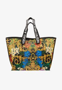 Versace Jeans Couture - BAROQUE STUD SHOPPER - Shopper - multi - 5