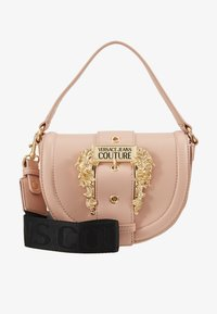Versace Jeans Couture - BAROQUE BUCKLE HALF MOON - Kabelka - naked pink - 1
