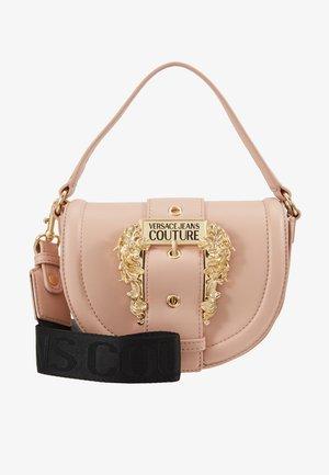 BAROQUE BUCKLE HALF MOON - Handbag - naked pink