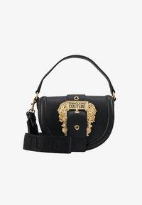 Versace Jeans Couture - BAROQUE BUCKLE HALF MOON - Handtas - black - 1