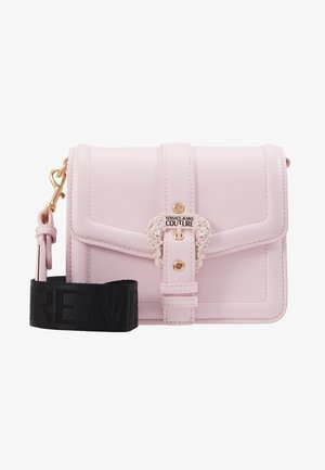 BAROQUE BUCKLE FLAP OVER - Sac bandoulière - pink