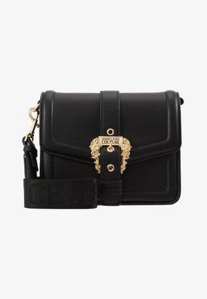 BAROQUE BUCKLE FLAP OVER - Umhängetasche - black