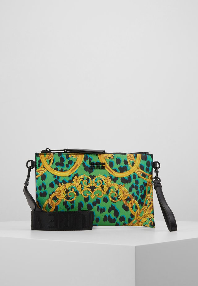 LEOPARD BAROQUE POUCH - Clutch - frog