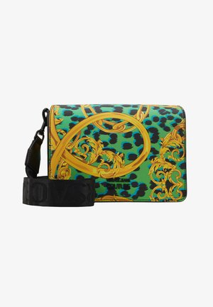 LEOPARD BAROQUE - Across body bag - frog