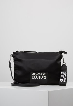 POUCH ON STRAP LOGO - Pochette - black