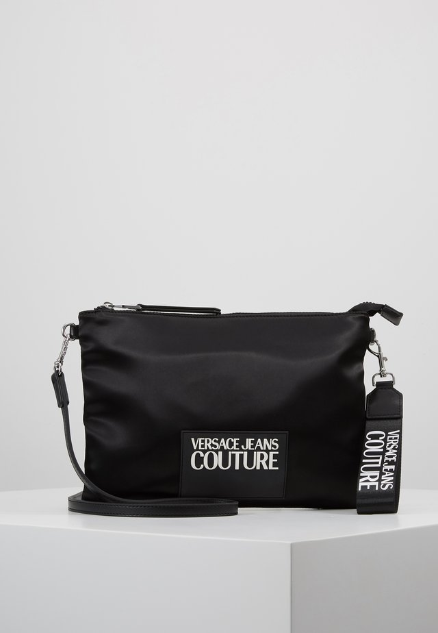 POUCH ON STRAP LOGO - Clutch - black