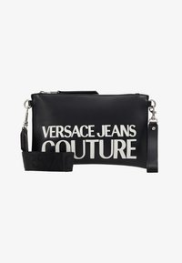 Versace Jeans Couture - MACRO LOGO POUCH - Clutch - black - 5