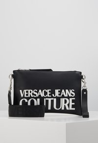 Versace Jeans Couture - MACRO LOGO POUCH - Clutch - black - 0