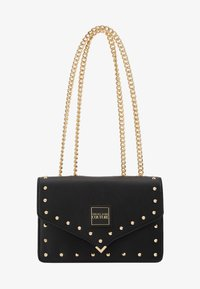 Versace Jeans Couture - STUDDED SHOULDER BAG - Borsa a tracolla - black - 5