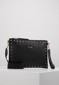 Versace Jeans Couture - STUDDED POUCH ON STRAP - Clutch - black - 0