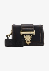 Versace Jeans Couture - BELT BAG BUCKLE - Rumpetaske - nero - 5