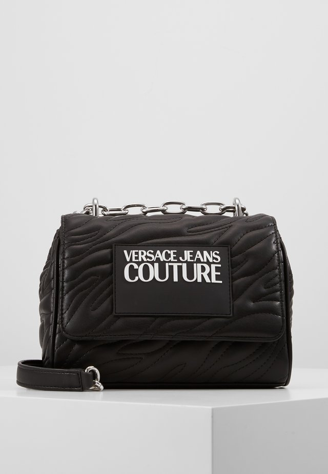 QUILTED CHAIN - Across body bag - nero