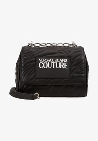 Versace Jeans Couture - QUILTED CHAIN - Sac bandoulière - nero - 5