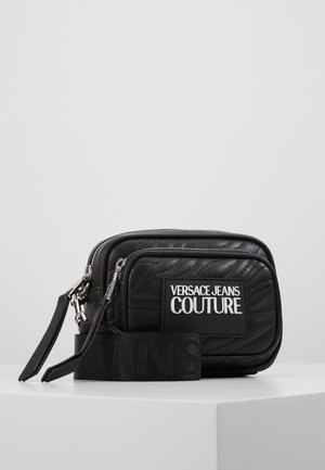 QUILTED MINI CAMERA - Across body bag - nero