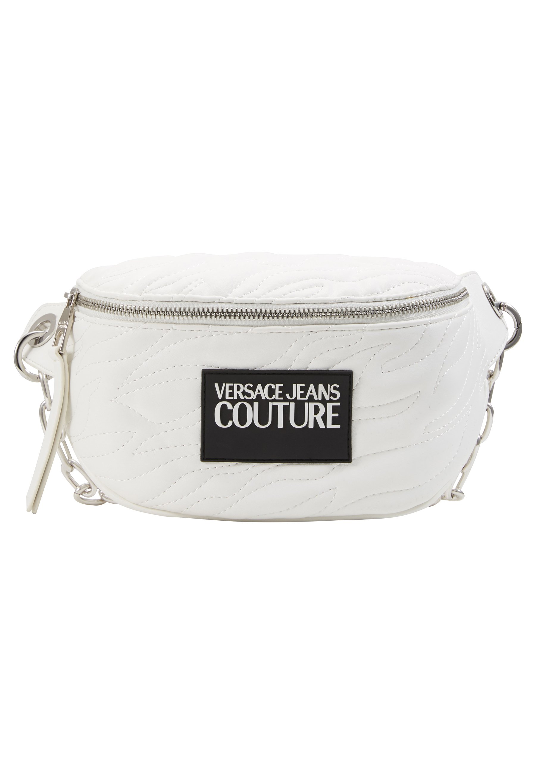 Versace Jeans Couture Quilted Belt Bag - Sac Banane Bianco