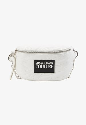 QUILTED BELT BAG - Ledvinka - bianco