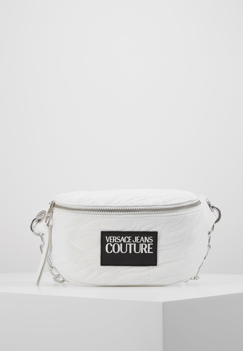 Versace Jeans Couture - QUILTED BELT BAG - Marsupio - bianco